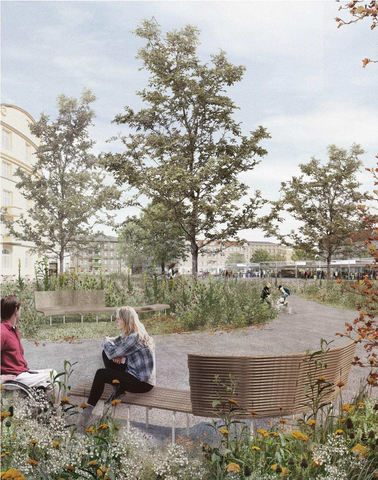Landscape Practice Łazarski Square