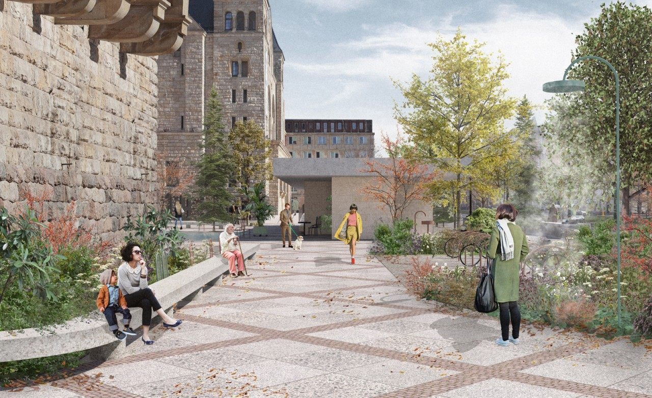 Landscape Practice Forecourt of the Poznań Castle